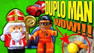 Toys videos for kids with Bob The Builder, Cars, Sinterklaas and Duplo Man toys videos for kids
