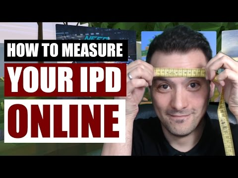 How to measure your IPD / Interpupillary Distance online - Important for VR headsets!