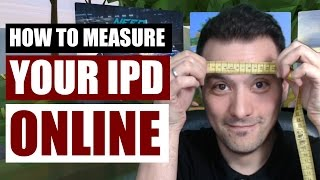 How to measure your IPD Interpupillary Distance online Important for VR headsets