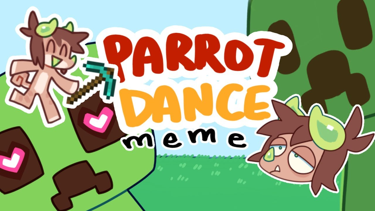 Parrot Dance Meme but with Creepers   Wholesome Minecraft Animation Meme