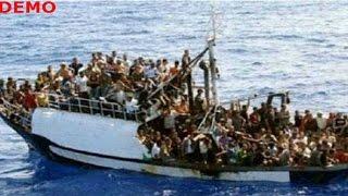 Boat capsizes in Mediterranean sea, 200 feared dead