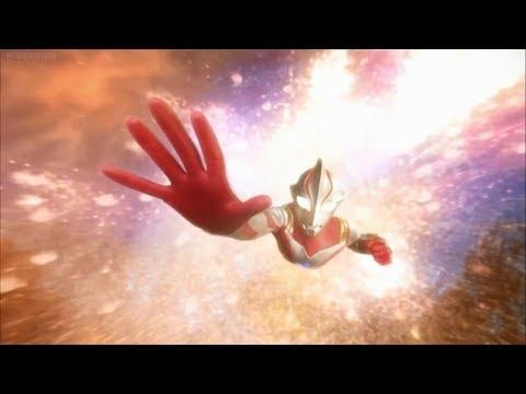 Superior 8 Ultraman Brothers - Mirai transforms into Ultraman Mebius
