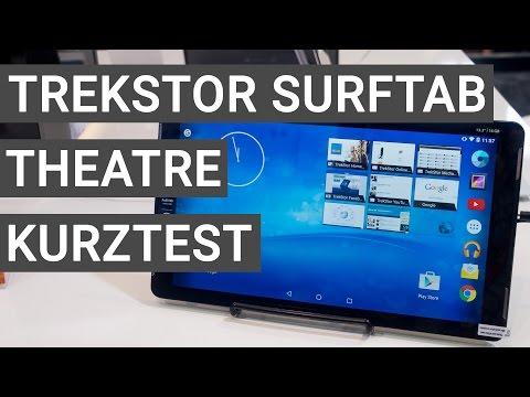 TrekStor SurfTab theatre Kurztest & Hands On | Deutsch