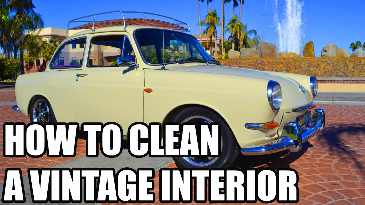 how to clean vintage car interiors chemical guys youtube. Black Bedroom Furniture Sets. Home Design Ideas