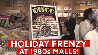 Sugar Plum Frenzy! See last-minute 1980s Christmas shoppers cope at New York malls