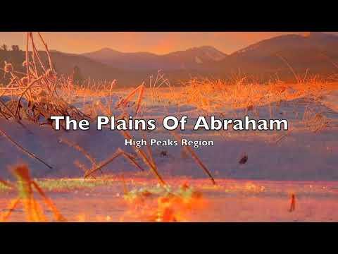 Winter Sunrise At The Plains Of Abraham