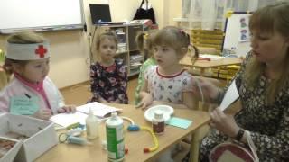 """Сюжетно-ролевая игра """"Больница"""" 6 группа"""