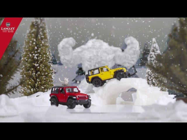 Stop motion Jeeps