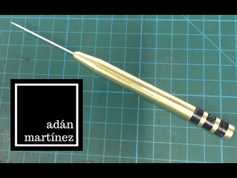 Wood and Brass Scriber
