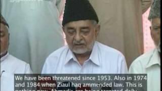 Response of Ahmadiyya Muslim Community on Attacks - Banned Video? Pakistan