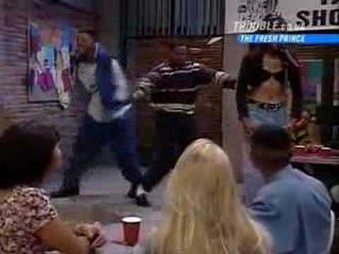 The Fresh Prince of Bel Air - Ashley's singing
