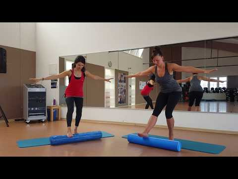 Pilates Rolle schlank & schön