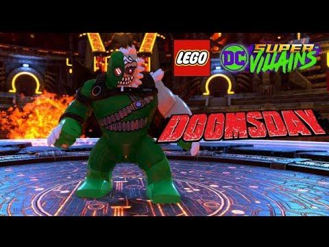 Lego Dc Super Villains Doomsday Boss Battle Unlock Free Roam Gameplay Youtube