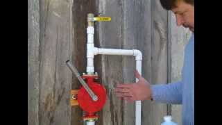 A Hand Pump for Shallow Water sources