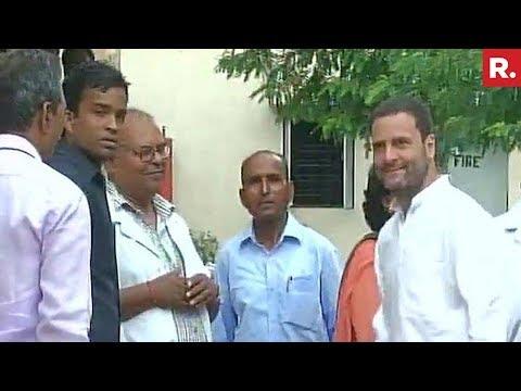 Rahul Gandhi Arrives At Gorakhpur