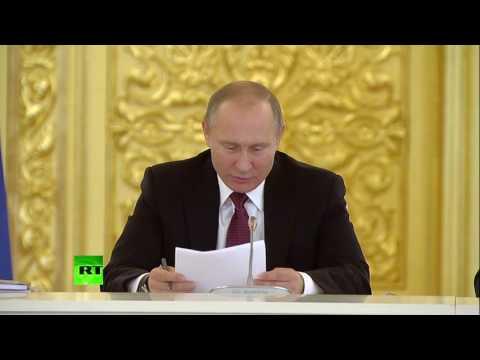 Путин удивился решению суда, обвинившему человека за написание заявления в прокуратуру