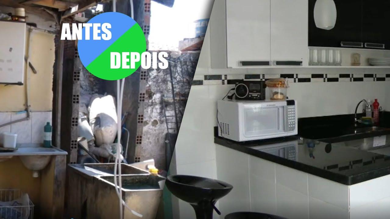 Antes e depois reforma casa completa youtube - Reformas en casas pequenas ...