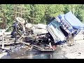 Truck Crash Compilation ✦ Truck crash russia