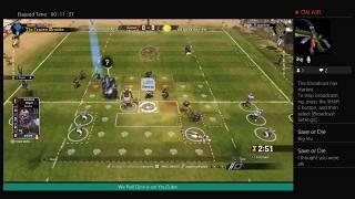 Blood Bowl 2. Undead vs Goblins