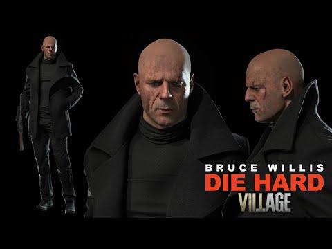 John Macclane - Die Hard Village (RE8 mod)