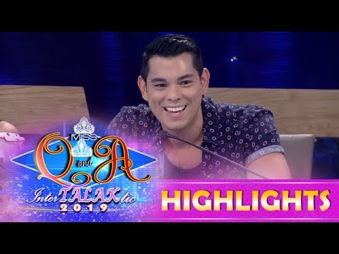 It's Showtime Miss Q and A: Raymond Gutierrez guests in Miss Q & A 2019