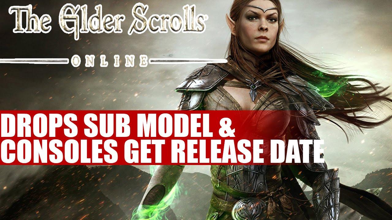 The elder scrolls online ps4 release date in Brisbane
