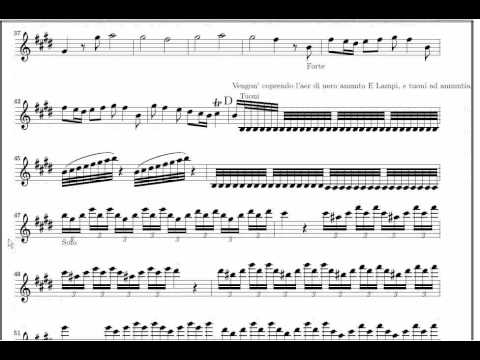 Primavera (Mov 1)   Vivaldi  (www.sheetmusic-violin.blogspot.com)