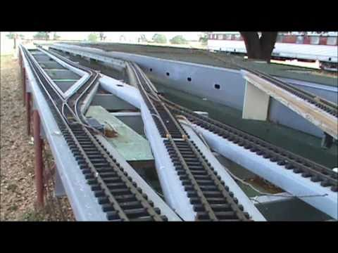 G scale train track(BIG LAY OUT)