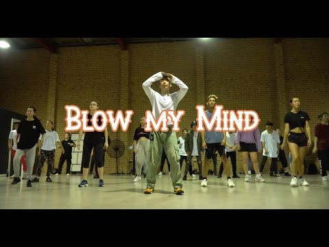Davido, Chris Brown - Blow My Mind - Dance Class Raw Footage