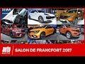 Salon de Francfort 2017 [EMISSION] : les 15 nouveautés majeures à découvrir