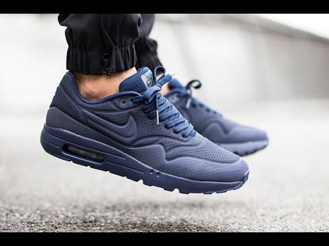 """best selling san francisco new cheap Nike Air Max 1 Ultra Moire """"Midnight Navy"""" 