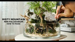 Misty Mountain Wabi Kusa - How I made it