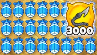 How Fast Can I Get 3000 HOOKS In ONE Game? (Bloons TD 6)