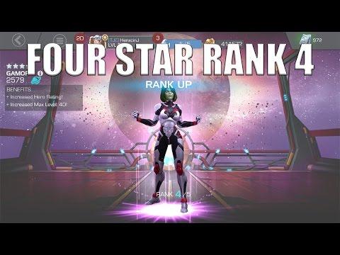 Marvel Contest of Champions   RANK 4 FOUR STAR GAMORA!