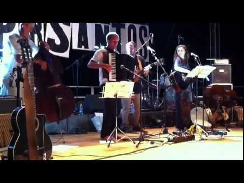 Voyelles – Surd Ensemble al Rock Doc Live 2011 Montefalco – Apertura del concerto di Mannarino