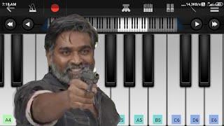 Vikram vedha | BGM | notes | perfect piano | WhatsApp status | MukilRaj |