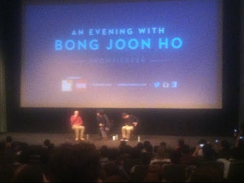 """Introduction to """"An Evening with Boon Joon-ho"""" Q&A a the Film Society of Lincoln Center"""