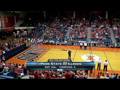 2013 Volleyball: Penn State at Illinois | Oct. 18, 2013 | Top Games of the BTN Era
