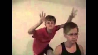 Two weird kids dancing remake