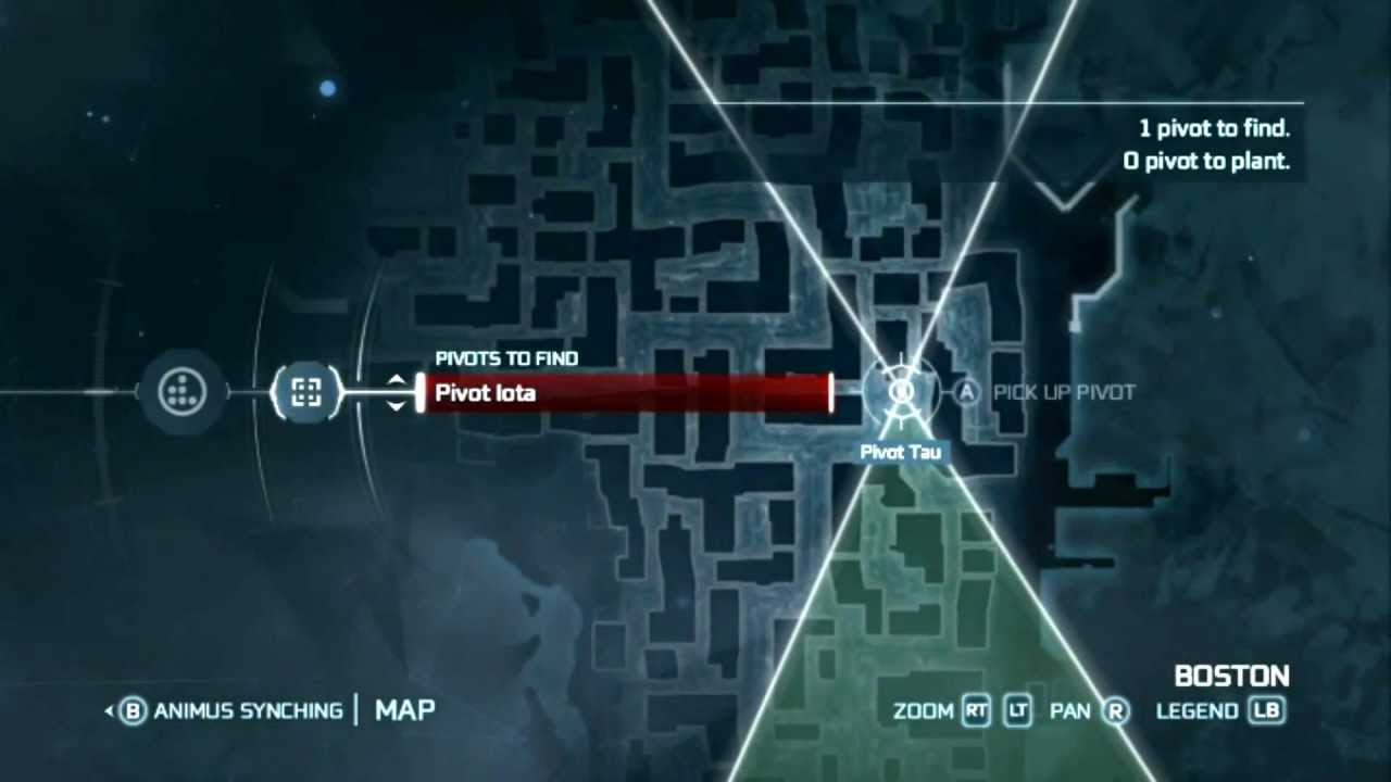 Assassin S Creed 3 Animus Syncing Pivots Explained Youtube