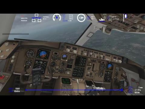 (X-Plane 11)Cyril E King Airport (TIST) to Miami International (KMIA)//FlightFactor 757