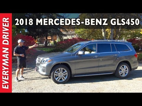 Here's the 2018 Mercedes-Benz GLS450 3-Row Luxury SUV Review on Everyman Driver