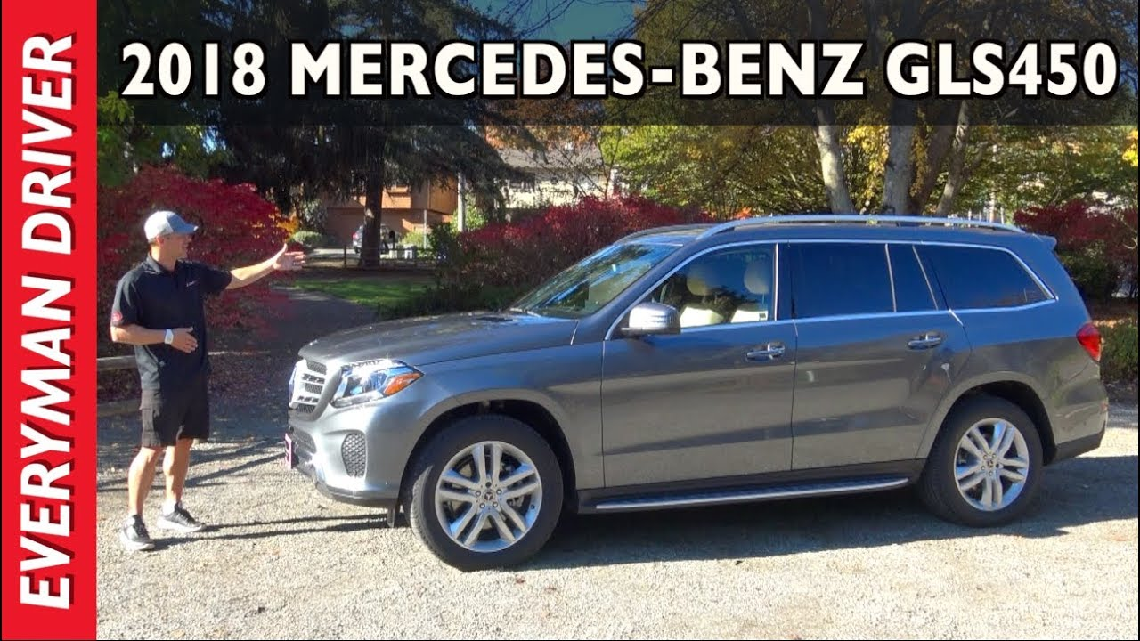 Here S The 2018 Mercedes Benz Gls450 3 Row Luxury Suv Review On Everyman Driver