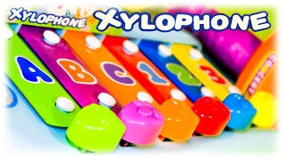 "Video For Children - ""xylophone Abc 123"" Educational Toys For Toddlers"
