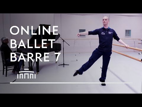 Ballet Barre 7 (Online Ballet Class) - Dutch National Ballet