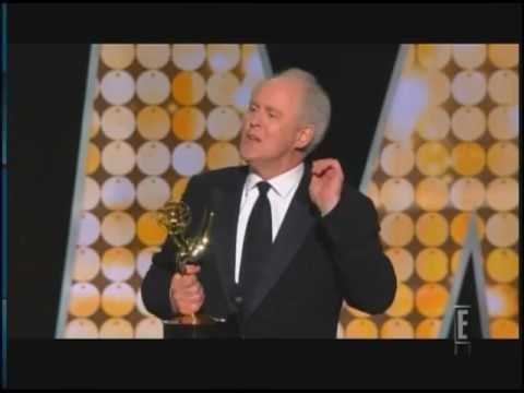 john lithgow wins emmy award for dexter 2010 youtube