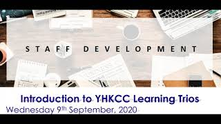 Publication Date: 2020-09-08 | Video Title: Introduction to Learning Trios