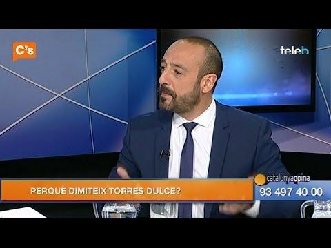 C's - Jordi Cañas en 'Catalunya Opina' de Badalona Tv 18/12/2014