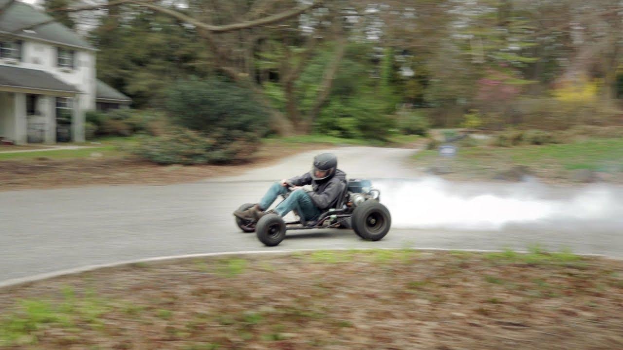 Drifting the Predator 212cc Go Kart