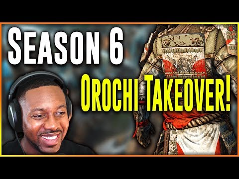 For honor orochi rework hype season 6 is here youtube - When is for honor season 6 ...